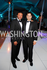 Chuck Ghoorah, Sanjeev Aggarval. L'Enfant Society Ball on the Mall 2009. Photos by Kyle Samperton.
