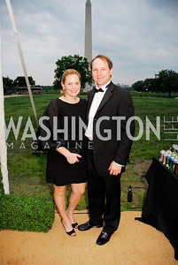 Libby and Randy Feldner. L'Enfant Society Ball on the Mall 2009. Photos by Kyle Samperton.