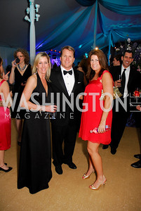 Larlyn Jennings, Doug Dixon, Jen Sadler. L'Enfant Society Ball on the Mall 2009. Photos by Kyle Samperton.
