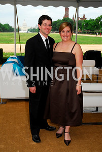 Michael and Allison Signorelli. L'Enfant Society Ball on the Mall 2009. Photos by Kyle Samperton.