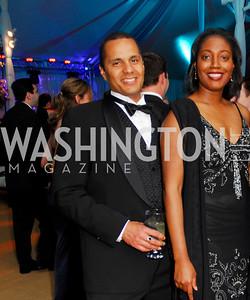 Jay Stewart, Jennifer Streaks. L'Enfant Society Ball on the Mall 2009. Photos by Kyle Samperton.