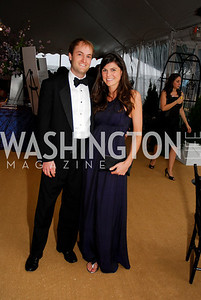 Jeff Phillips, Erin Bladergroen. L'Enfant Society Ball on the Mall 2009. Photos by Kyle Samperton.