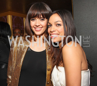 Jessica Alba, Rosario Dawson, Photo by Tony Powell