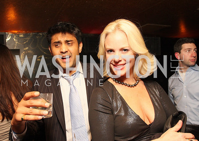 Hedel Patel, Cheryl Woodcock, Photo by Tony Powell