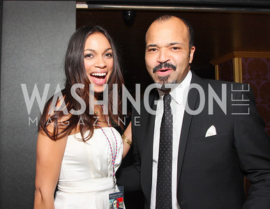 Rosario Dawson, Jeffrey Wright, Photo by Tony Powell
