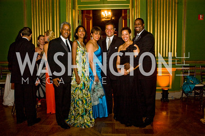 Kamal Ali, Sonya Ali, Debbie Jarvis, Ernie Jarvis, Bill Keating, Kim Keating, photographer Betsy Spruill Clarke