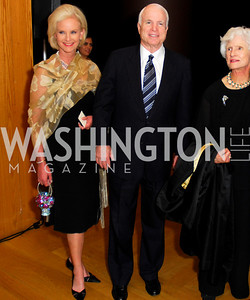 Cindy, John, and Roberta McCain. Freer Sackler Gala 2009. Photos by Kyle Samperton.