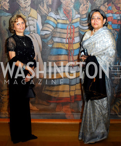 Nunda Ambegaonkar, Vandana Sheth. Freer Sackler Gala 2009. Photos by Kyle Samperton.