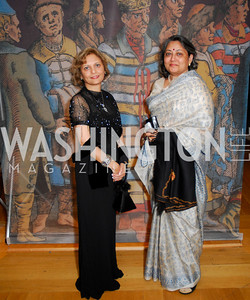 Trustee Nunda Ambegaonkar, Vandad Sheth. Freer Sackler Gala 2009. Photos by Kyle Samperton.