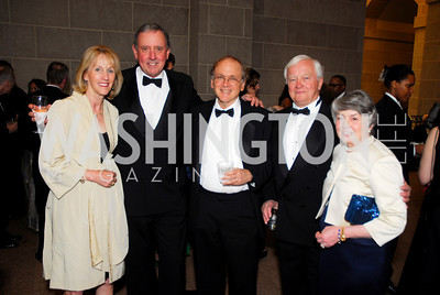 Sandy and Jim Langdon, Daniel Yergin, Dick and Billie Matzke. Freer Sackler Gala 2009. Photos by Kyle Samperton.
