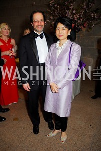 Jeffrey Cunard, Mariko Ikehara. Freer Sackler Gala 2009. Photos by Kyle Samperton.