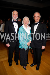 Wayne and Ann Clough, Julian Raby. Freer Sackler Gala 2009. Photos by Kyle Samperton.