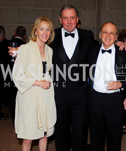 Sandy and Jim Langdon, Daniel Yergin. Freer Sackler Gala 2009. Photos by Kyle Samperton.