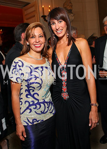 Katherine Vernot-Jonas and Jennifer Camel-Toueg. The Meridian Ball. Meridian International Center. October 2, 2009. photos by Tony Powell