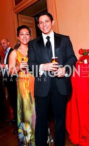 Stephanie Delp, Juan Barnett. The Meridian Ball. Meridian International Center. October 2, 2009. photos by Tony Powell
