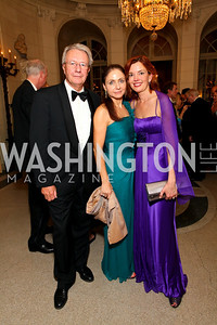 Swiss Amb. Urs Ziswiler, Ronit Ziswiler, Marie Royce. The Meridian Ball. Meridian International Center. October 2, 2009. photos by Tony Powell