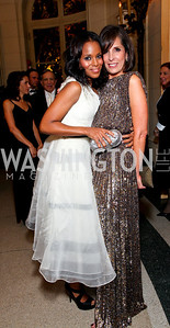 Kerry Washington and Beth Dozoretz. The Meridian Ball. Meridian International Center. October 2, 2009. photos by Tony Powell