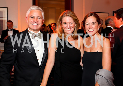 Patrick Steel with special assistant to President Barack Obama and director of communications for First Lady Michelle Obama, Camille Johnston, and Lee Satterfield. The Meridian Ball. Meridian International Center. October 2, 2009. photos by Tony Powell