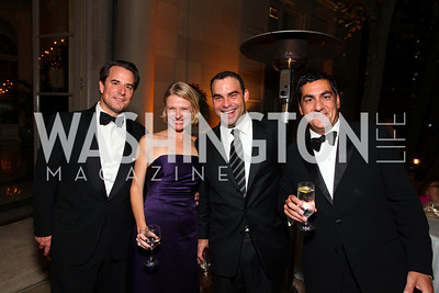 Stuart Holliday, Kristin Solheim, Manny Ortiz, Peter Mirijanian. The Meridian Ball. Meridian International Center. October 2, 2009. photos by Tony Powell