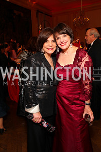 Rhoda Glickman and Marlene Malek. The Meridian Ball. Meridian International Center. October 2, 2009. photos by Tony Powell