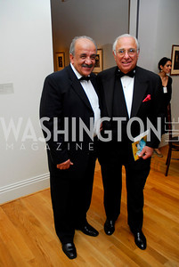 """Parviz Mafi"", ""Donald Sigmund"". The Phillips Collection Gala. May 15, 2009. Photos by Kyle Samperton."