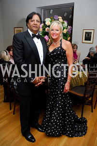 """Ray Mamood"", ""Debbie Sigmund"". The Phillips Collection Gala. May 15, 2009. Photos by Kyle Samperton."