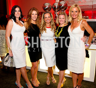 Amy Baier, Sharon Dougherty, Jamie Dorros, Sassy Jacobs, Susanna Quinn,Photograph by Tony Powell