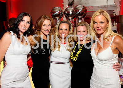Amy Baier, Sharon Dougherty, Jamie Dorros, Sassy Jacobs, Susanna Quinn, Photograph by Tony Powell