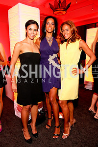 Kheira Benkreira, Mary Barth, Joelle Myers, Photograph by Tony Powell