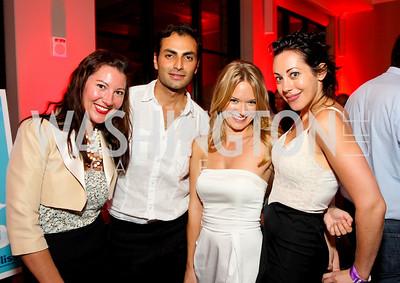Kristen Guiter, Omar Popal, Amanda McClements, Rachel Cothran, Photograph by Tony Powell