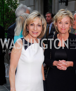 Andrea Mitchell, Tina Brown (Photo by Kyle Samperton)