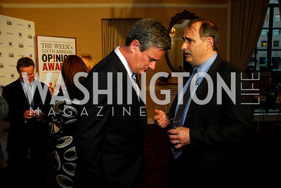 Joe Scarborough, David Axelrod (Photo by Kyle Samperton)