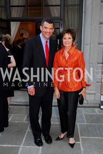 Mark Whitaker, Maureen Orth (Photo by Kyle Samperton)