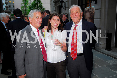 Walter Issacson, Courtney Carlson, Ben Bradlee (Photo by Kyle Samperton)