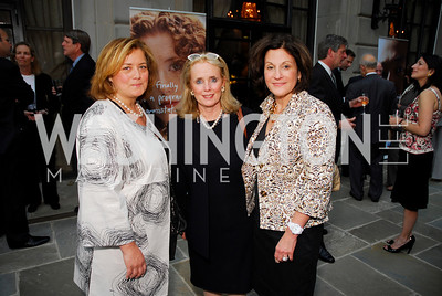 Hillary Rosen, Debbie Dingell, Lois Romano (Photo by Kyle Samperton)
