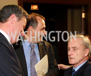 Joe Scarborough, David Axelrod, Harold Evans (Photo by Kyle Samperton)