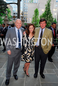 Todd Harris, Betsy Fischer, Tucker Carlson (Photo by Kyle Samperton)