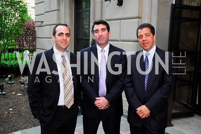 Steve Kotok, Jed Hartman, Alain brgun (Photo by Kyle Samperton)