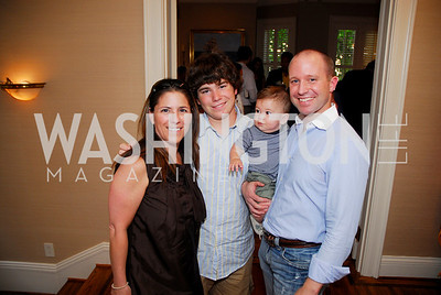 kyle samperton,july 26,2009 ,The Roosevelt House,The Wilderness Warrior book party, Nicole Boxer,Zach Rodham,Sawyer Keegan,Kevin Keegan, Photograph by Kyle Samperton
