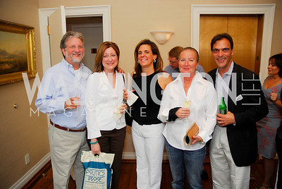 Mike Clurman, SallyClurman, Jill Trimble, Gretchen Everett, Ches Johnson, Photograph by Kyle Samperton