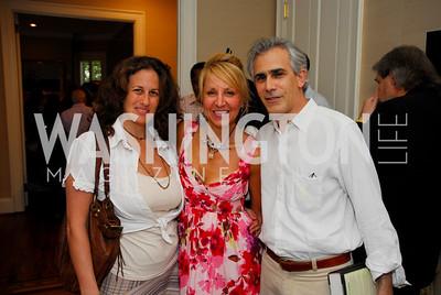 kyle samperton,july 26,2009,The Roosevelt House,The Wilderness Warrior book party,Julia Cohen,Nicole Backus,David Korn, Photograph by Kyle Samperton