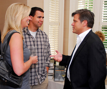 Bill Burton, Laura Capps, Douglas Brinkley, Photograph by Kyle Samperton