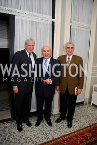 Amb.Pierre Vimont, Amb.Antoine Chedid, Amb.Andreas Kakouris. Kyle Samperton,October 19,2009,Thomas/Crawford Book Party