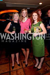 Jennifer Quinlan, Kathleen Landy, Lori Ritter. Tom Ridge book party at Cafe Milano. September 22, 2009. photos by Tony Powell