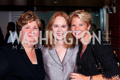 Barbara Chaffee, Susan Galen, Ashley Davis. Tom Ridge book party at Cafe Milano. September 22, 2009. photos by Tony Powell