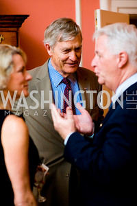 Tim Worth, Ben Bradlee, photographer Joseph Allen