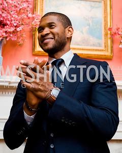Usher, photographer Joseph Allen