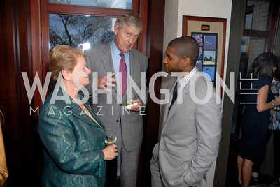 gro brundtland,tim wirth, usher, photographer Kyle Samperton