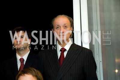 Mario Morino. VPP Reception. Ann Brown's House. September 23, 2009. Photos by Betsy Spruill Clarke.