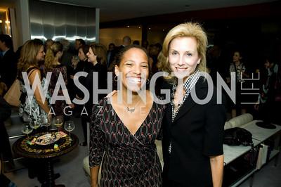Rachel Lerman, Kathryn Bradley. VPP Reception. Ann Brown's House. September 23, 2009. Photos by Betsy Spruill Clarke.